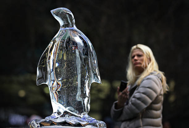 The London Ice Sculpting Festival Returns To Canary Wharf:ニュース(壁紙.com)