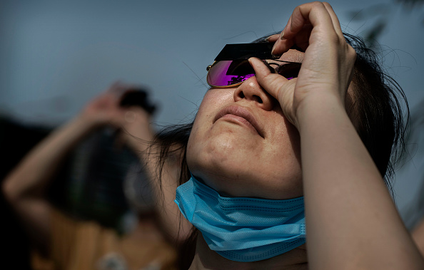 Annular Solar Eclipse「Beijing Moves To Contain Fresh Cases Of COVID-19」:写真・画像(17)[壁紙.com]