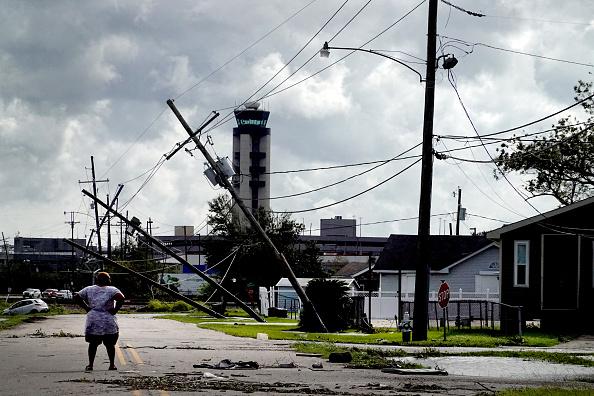 Damaged「Hurricane Ida Makes Landfall In Louisiana Leaving Devastation In Its Wake」:写真・画像(0)[壁紙.com]