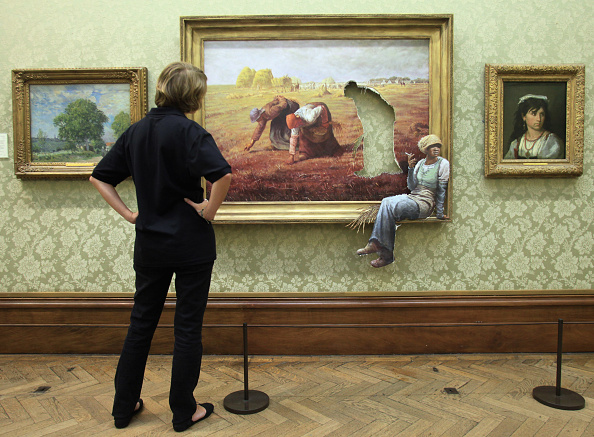 Street Art「Banksy Launches Suprise Exhibition In His Hometown」:写真・画像(19)[壁紙.com]