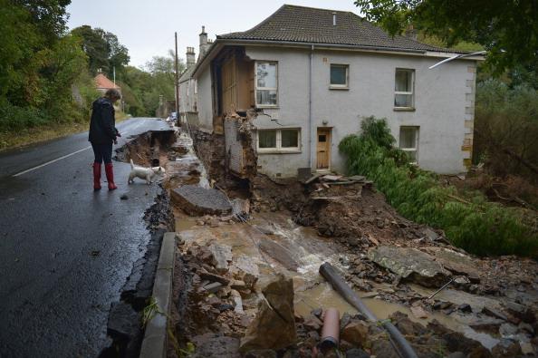 Damaged「Scotland Hit By Widespread Flooding」:写真・画像(18)[壁紙.com]