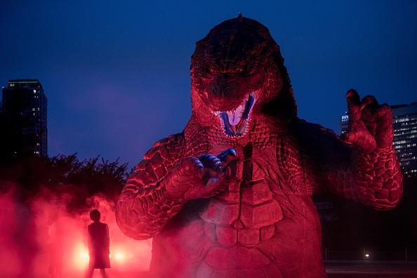 """2014 movie GODZILLA Godzilla「""""MIDTOWN Meets GODZILLA"""" Show Opens In Tokyo」:写真・画像(7)[壁紙.com]"""