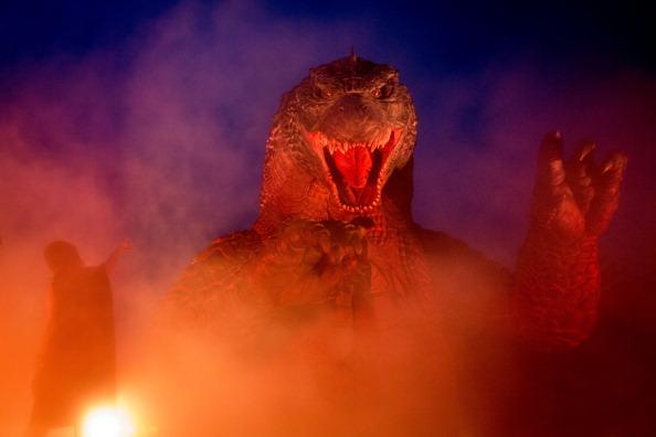 """2014 movie GODZILLA Godzilla「""""MIDTOWN Meets GODZILLA"""" Show Opens In Tokyo」:写真・画像(1)[壁紙.com]"""
