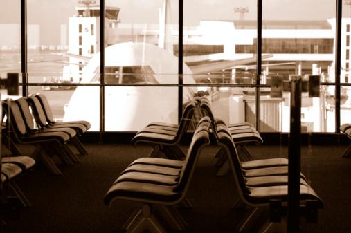 Sepia Toned「Airport」:スマホ壁紙(10)