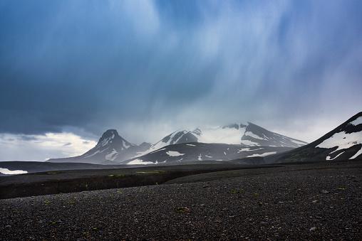 Volcanic Landscape「Volcanic landscape in Iceland, Highland」:スマホ壁紙(3)