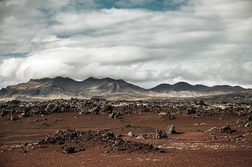 Lava「Volcanic landscape in Snaefellsnes Iceland」:スマホ壁紙(12)