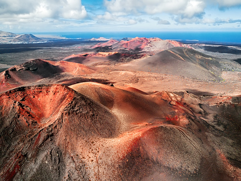 Atlantic Islands「Volcanic landscape, Timanfaya National Park, Lanzarote, Canary Islands」:スマホ壁紙(18)
