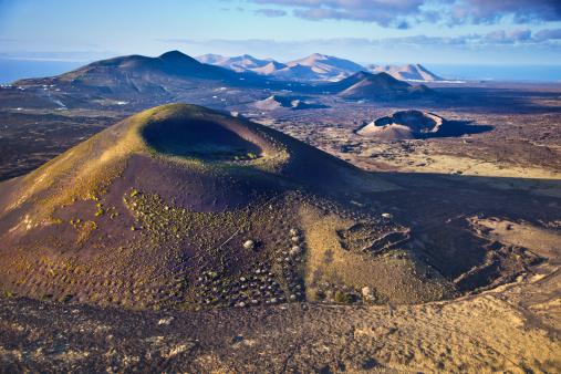 Atlantic Islands「Volcanic landscape in Lanzarote.」:スマホ壁紙(12)