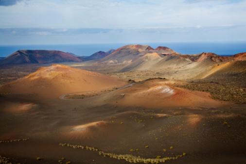 Arid Climate「Volcanic landscape in Lanzarote」:スマホ壁紙(0)