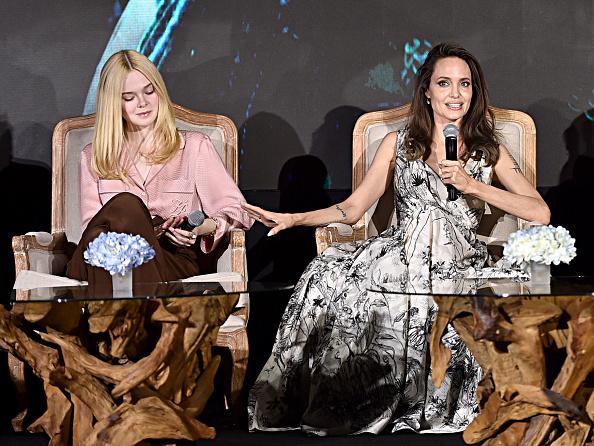 """Elle Fanning「Global Press Conference for Disney's """"Maleficent:  Mistress of Evil""""」:写真・画像(1)[壁紙.com]"""