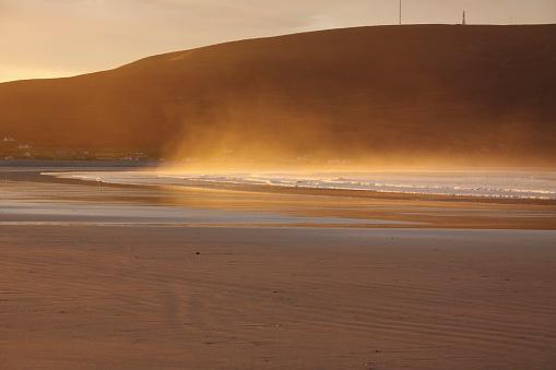 アキル島「Trawmore strand in connacht region, keel, achill island, county mayo, ireland」:スマホ壁紙(10)