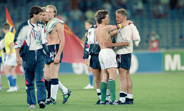 England「Paul Gascoigne 1990 FIFA World Cup Semi Final England v West Germany」:写真・画像(12)[壁紙.com]