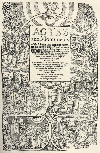 Page「John Foxe - Martyrologist - English author - title page of 'Book of Martyrs' - 1563」:写真・画像(18)[壁紙.com]