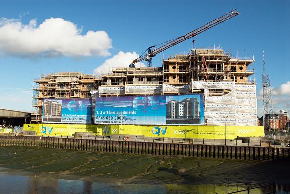 Finance and Economy「Weston homes development under construction at Colne Harbour, Colchester, UK」:写真・画像(19)[壁紙.com]