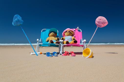 Deck Chair「teddies on a beach in deckchairs」:スマホ壁紙(17)
