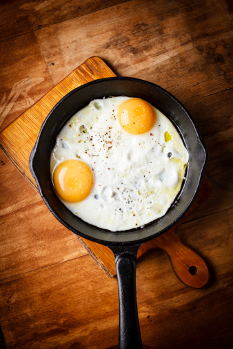 Skillet - Cooking Pan「eggs breakfast」:スマホ壁紙(12)