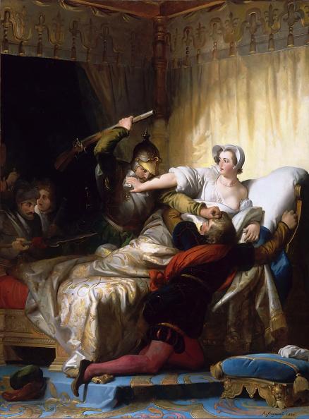 Day「Scene In The Bedroom Of Marguerite De Valois During The St Bartholomews Day Massacre」:写真・画像(16)[壁紙.com]