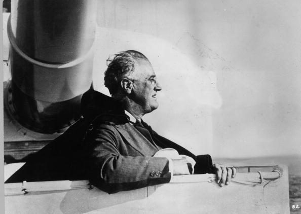 Franklin Roosevelt「Roosevelt At Sea」:写真・画像(14)[壁紙.com]