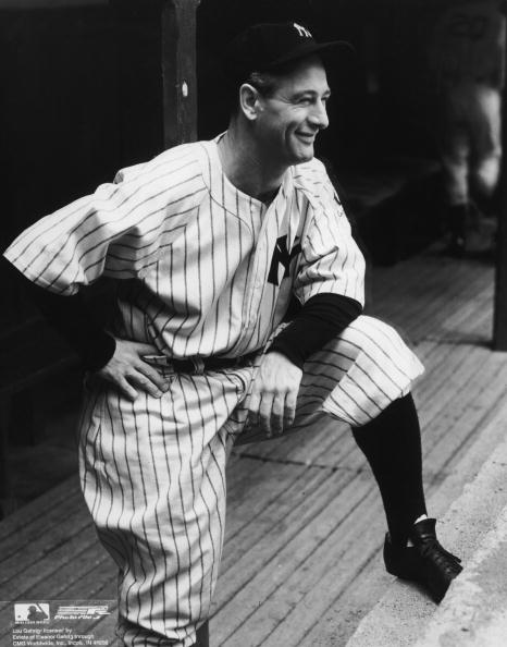 Leaning「Lou Gehrig」:写真・画像(13)[壁紙.com]