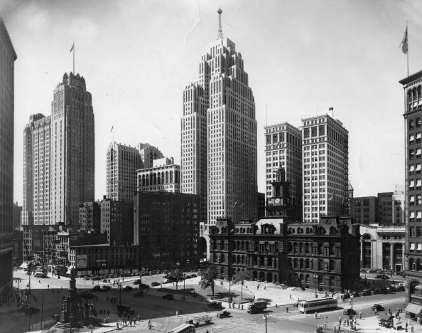 Detroit - Michigan「Detroit City Hall」:写真・画像(17)[壁紙.com]