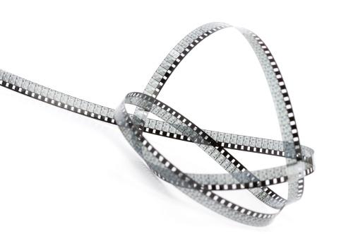 数字の8「フィルムストリップ」:スマホ壁紙(4)
