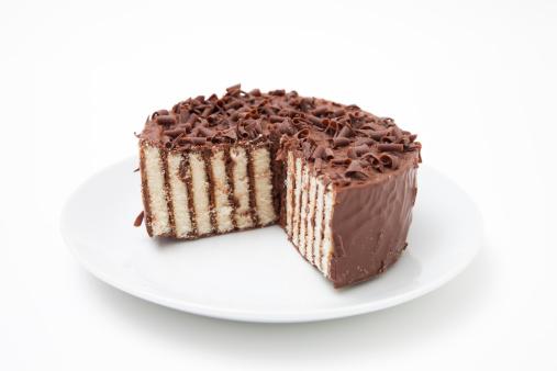 ケーキ「チョコレートを重ねたケーキ」:スマホ壁紙(19)