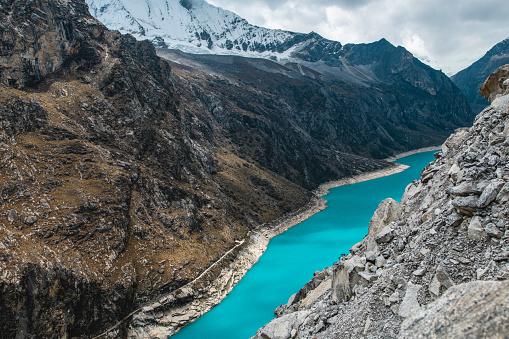 Bolivian Andes「Glacier Lake Paron, Peru」:スマホ壁紙(3)