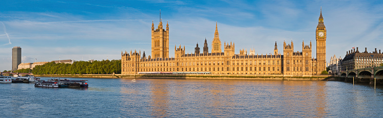 Gothic Style「London Big Ben Houses of Parliament Thames Westminster panorama」:スマホ壁紙(9)