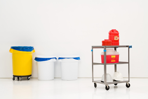 Chemical「Chemical waste and bins」:スマホ壁紙(5)