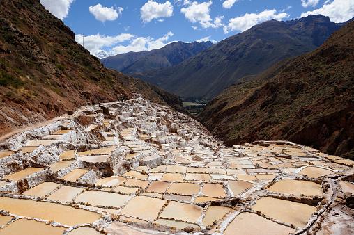 Urubamba Valley「Salineras de Maras in Peru's Sacred Valley」:スマホ壁紙(10)