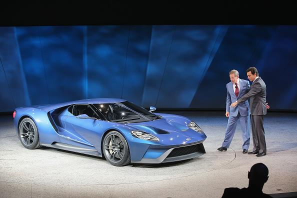 Ford GT「Detroit Hosts Annual North American International Auto Show」:写真・画像(12)[壁紙.com]