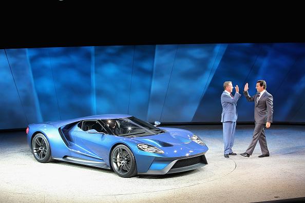 Ford GT「Detroit Hosts Annual North American International Auto Show」:写真・画像(7)[壁紙.com]