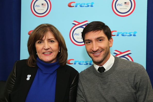 エヴァン ライサチェク「P&G Kicks-Off The 2014 Sochi Olympic Winter Games 'Thank You, Mom' Campaign With A Screening Of Their 'Raising An Olympian' Films」:写真・画像(16)[壁紙.com]