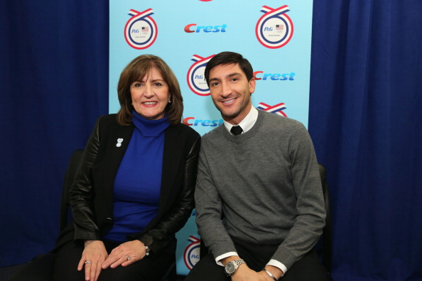 Evan Lysacek「P&G Kicks-Off The 2014 Sochi Olympic Winter Games 'Thank You, Mom' Campaign With A Screening Of Their 'Raising An Olympian' Films」:写真・画像(19)[壁紙.com]