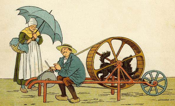 Sharpening「Knife-grinder of Caen」:写真・画像(18)[壁紙.com]