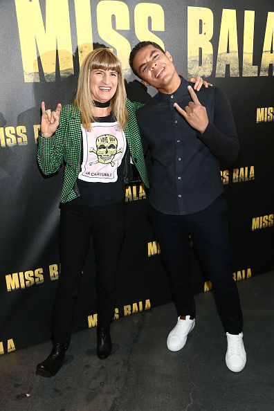 Checked Blazer「Sony Pictures Entertainment + NALIP Presents LatinX Representation In Entertainment Panel And Screening Of MISS BALA」:写真・画像(12)[壁紙.com]