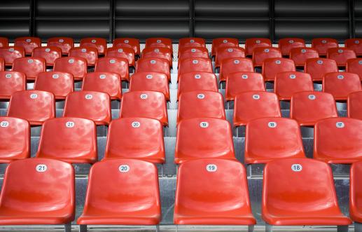 Stadium「Empty stadium seats」:スマホ壁紙(2)