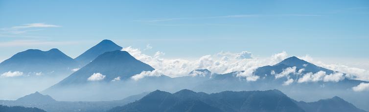 Lake Atitlan「Lake Atitlán volcanoes」:スマホ壁紙(17)