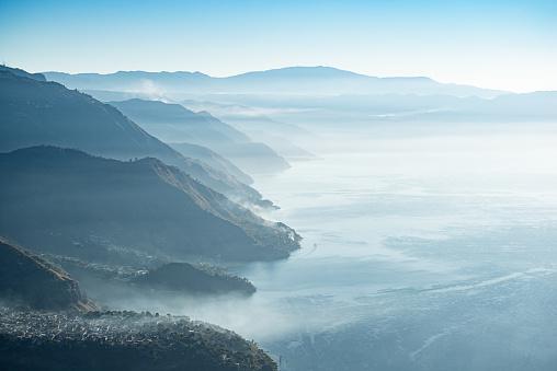 Lake Atitlan「Lake Atitlán sunrise」:スマホ壁紙(9)