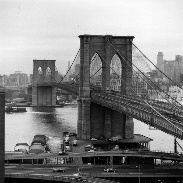 Monochrome「Brooklyn Bridge」:写真・画像(10)[壁紙.com]