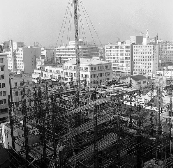 Skyscraper「Tokyo Construction」:写真・画像(1)[壁紙.com]