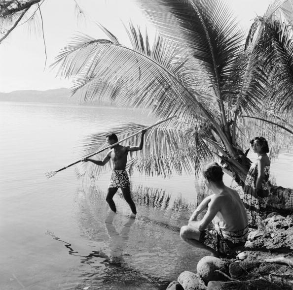 Pacific Islands「Spear Fishing」:写真・画像(12)[壁紙.com]