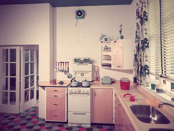 インテリア「50s Kitchen」:写真・画像(3)[壁紙.com]