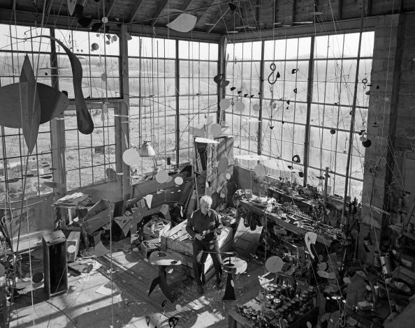 Studio - Workplace「Alexander Calder」:写真・画像(8)[壁紙.com]