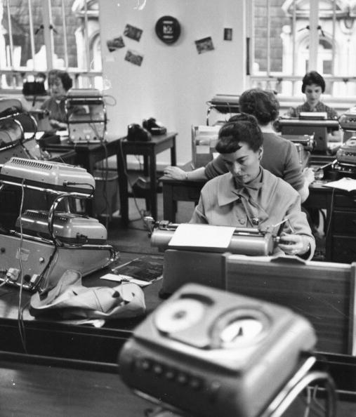 1950-1959「Typing Pool」:写真・画像(17)[壁紙.com]