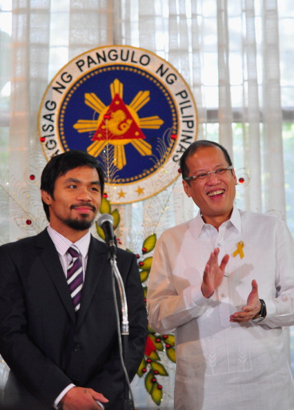 WBC「Manny Pacquiao Returns To Hero's Welcome In Manila」:写真・画像(12)[壁紙.com]