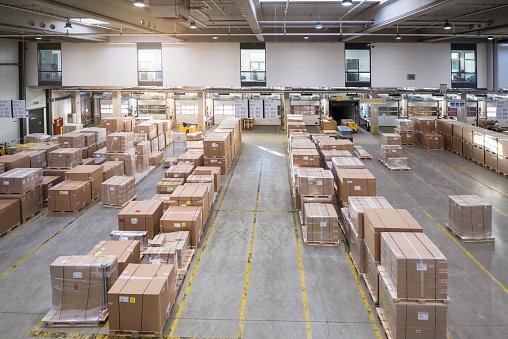 Delivering「Factory warehouse」:スマホ壁紙(19)