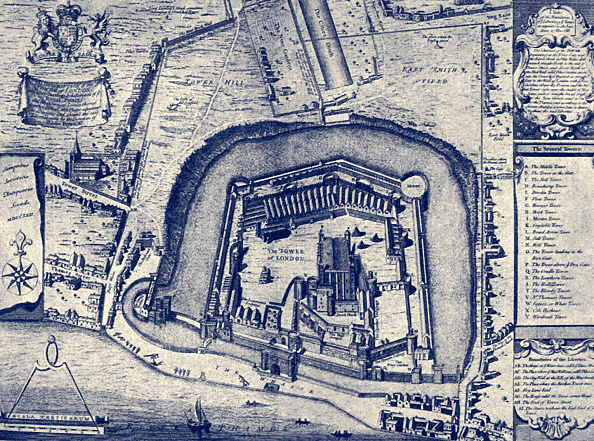 Plan - Document「The Tower of London」:写真・画像(11)[壁紙.com]