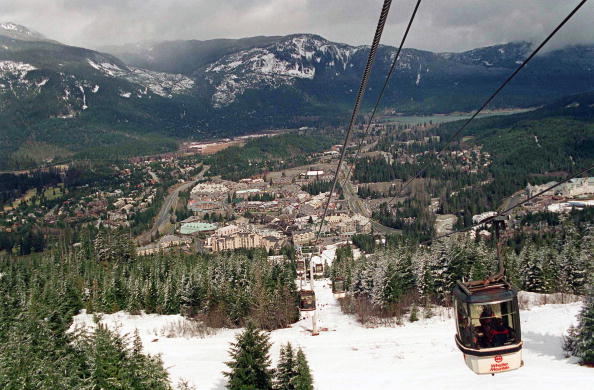 Tourist Resort「Whistler Ski Resort」:写真・画像(7)[壁紙.com]