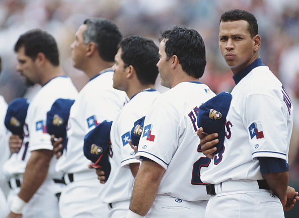 Alex Rodriguez - Baseball Player「Anaheim Angels vs Texas Rangers」:写真・画像(0)[壁紙.com]